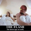 The Flash The Fastest Guy On Earth