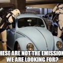 These are not the emissions wea re looking for