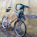This is my bike if the zombie apocalypse ever happens