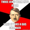 Three Jews Walked in to a bar