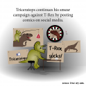 Triceratops continues his smear campaign