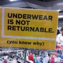 Underware is not returnable2