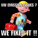 VW Emisson issues we can fix it