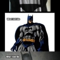What I look like as Batman