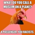 What do you call a muslim on a plane