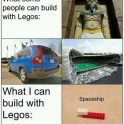 What people can build with LEGO