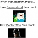 When you mention Angels to Supernatural and Doctor Who fans