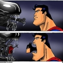 Why Alien fears Superman