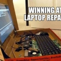 Winning at Laptop Repairs