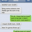 Worst day ever with gum