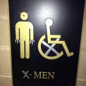 X Men Pee Here
