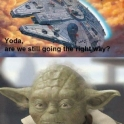 Yoda Are We Still Going The Right Way