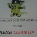 Your mothers does not work here