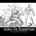 goku vs superman2