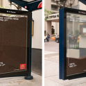 mcdonalds free coffee bus shelter