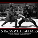 ninjas with Guitars2
