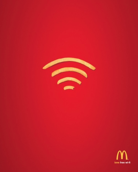 McDonalds - Wifi (wi-fries)
