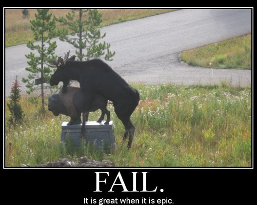 moose epic fail