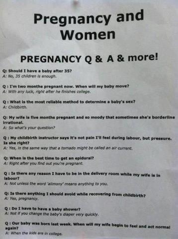 pregnancy and women