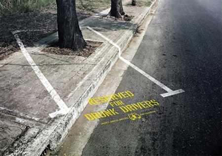 Reserved Parking for Drunk Drivers