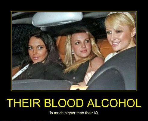 their blood alcohol